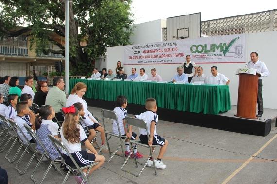 Ayuntamiento de Colima Conmemora Natalicio de Don José Ma. Morelos y Pavón