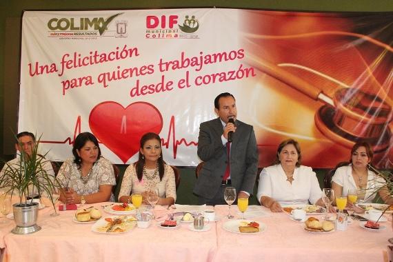 Federico Rangel Reconoce y Expresa Admiración por el Gremio Médico