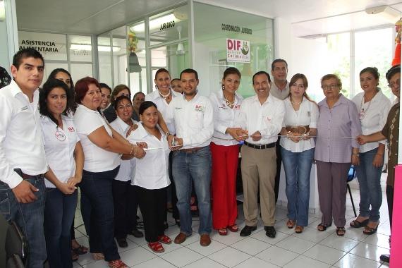 Entrega FRL Remodelación de Área Jurídica, del DIF Municipal Colima