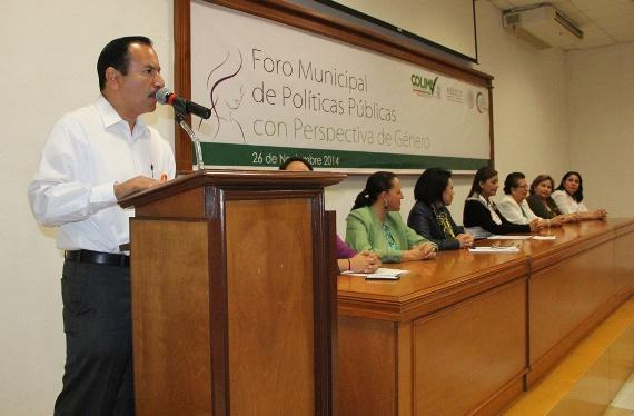 Ayuntamiento de Colima Lleva a Cabo Foro Municipal de Políticas Públicas con Perspectiva de Género