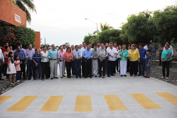 Federico Rangel Lozano Inaugura Segunda Etapa de Pavimentación con Concreto Hidráulico de la Genoveva Sánchez